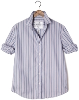 Frank And Eileen Mens Paul Multi Striped Poplin Shirt