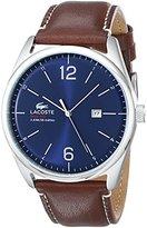 Lacoste Men's 2010749 Austin Analog Display Japanese Quartz Brown Watch