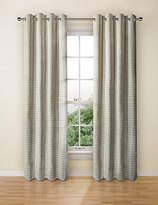 Marks and Spencer Velvet Oval Curtain