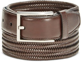 Ryan Seacrest Distinction Ryan Seacrest Men's Leather Stretch Braided Dress Belt, Only at Macy's