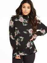 AX Paris High Neck Printed Top