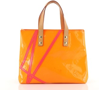 Louis Vuitton Limited Edition Robert Wilson Reade Tote Vernis PM