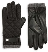 Polo Ralph Lauren Men's Quilted Leather Gloves