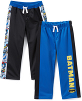 Children's Apparel Network Batman Black & Blue Sweatpants Set - Kids