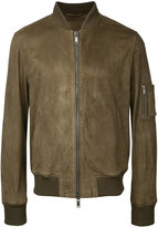 Desa Collection - leather bomber jacket - men - Suede - 50