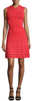 M Missoni Sleeveless Fit-and-Flare Dress