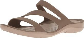 Crocs Women's Swiftwater Sandal Sport Black 10 M US