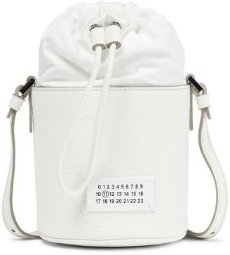Maison Margiela 5AC Mini leather bucket bag