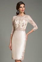 Feriani Couture - 18503 Classy Lacey Top Cocktail Dress
