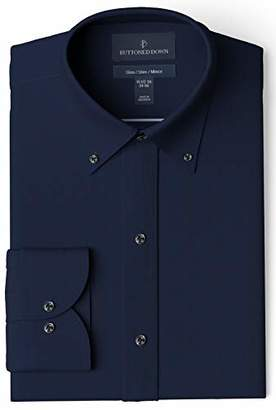 Buttoned Down Men's Slim Fit Button Collar Solid Pocket Options