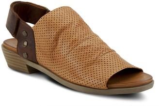 Spring Step Adjustable Leather Sandals - Rapture