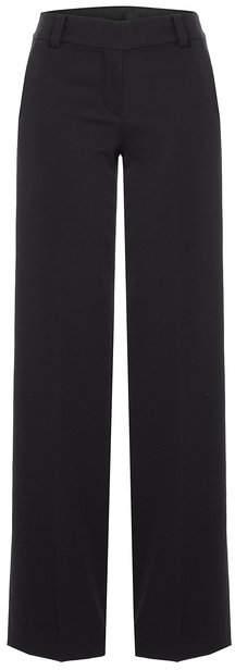 DKNY Wide Leg Wool Pants