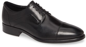 Ecco City Tray Cap Toe Derby
