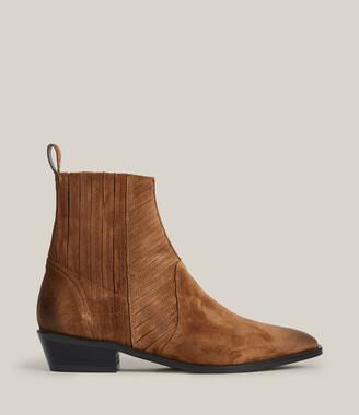 AllSaints Fion Suede Boots