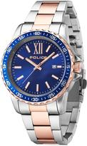 Police Las Vegas Two Tone Stainless Steel Bracelet Mens Watch