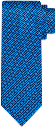 Stefano Ricci Men's Geo Stripe Printed Silk Tie