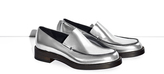 3.1 Phillip Lim Exclusive stacked Lou metallic loafer