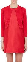 Lisa Perry Women's Crop Cardigan-RED