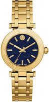 Tory Burch Women's Swiss Classic T Gold-Tone Stainless Steel Bracelet Watch 35mm TB9004
