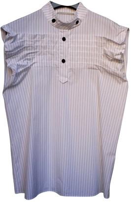 Marco De Vincenzo White Cotton Tops