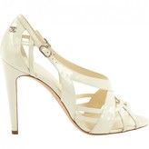 Chanel White Patent leather Sandals