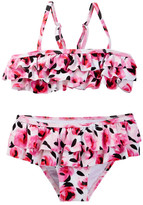 Kate Spade Rose Ruffle Two-Piece Swimsuit (Toddler & Little Girls)