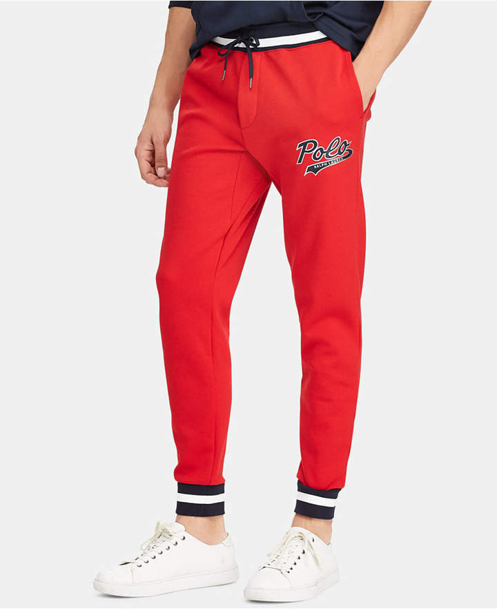 Polo Ralph Lauren Men Double-Knit Graphic Jogger Pants