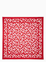 Kate Spade Heart party square scarf