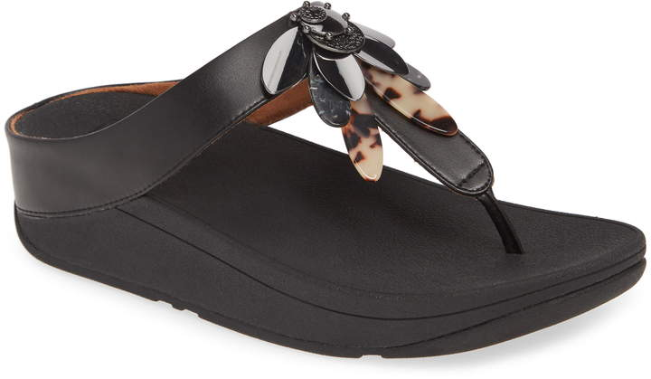 FitFlop Conga Dragonfly Flip Flop(Women)