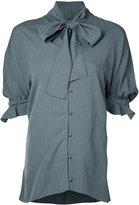 J.W.Anderson striped blouse - women - Silk/Viscose - 8
