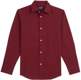 Chaps Boys 4-20 Textured Stretch Button-Down Shirt