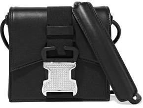 Christopher Kane Bonnie Crystal-embellished Leather Shoulder Bag
