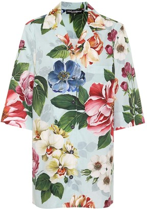 Dolce & Gabbana Floral cotton shirt