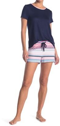 Nautica Top & Short Pajama 2-Piece Set