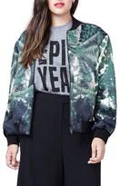Rachel Roy Plus Size Women's Bomber Jacket