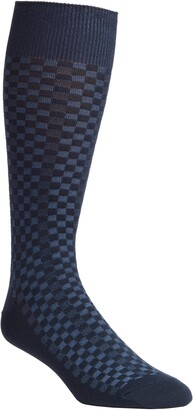 Nordstrom Mini Check Ultrasoft Socks