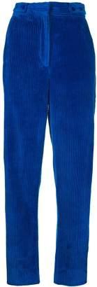 Cédric Charlier high-rise corduroy trousers
