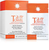 TanTowel Self_Tan Towelette Half Body Application For Face & Body