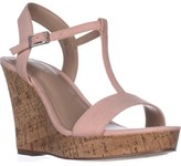 Charles David Charles Libra Wedge Sandals, Blush, 5.5 US