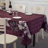 W&HX househol tablecloth Waterproof oil cloth fabric isposable tablecloths Print table cloth