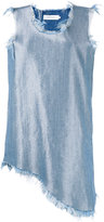 Marques Almeida Marques'almeida - denim mini dress - women - Cotton/Polyester/Rayon - XS