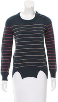 Carven Wool Striped Sweater