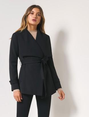 Forever New Danielle Coat - Black - 10