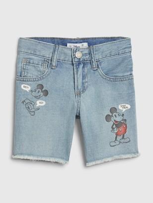 Disney babyGap | Mickey Mouse Denim Shorts