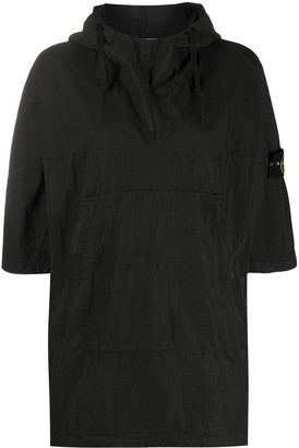 Stone Island Compass-Patch Hooded Jacket