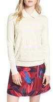Draper James Women's Lace Collar Augusta Sweater