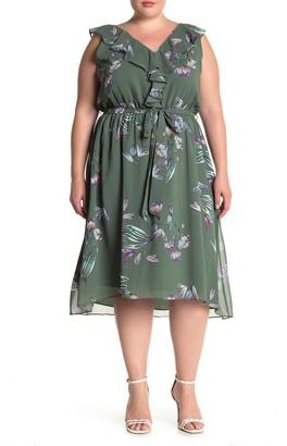 Rachel Roy Odele Ruffle Dress (Plus Size)