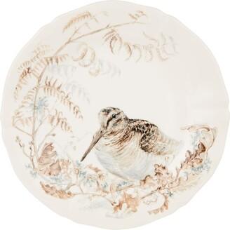 Gien Sologne Woodcock Dessert Plate (23Cm)