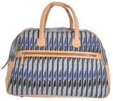Stripe Ikat Weekender Bag