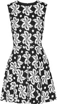 Diane von Furstenberg Jeannie printed cotton mini dress